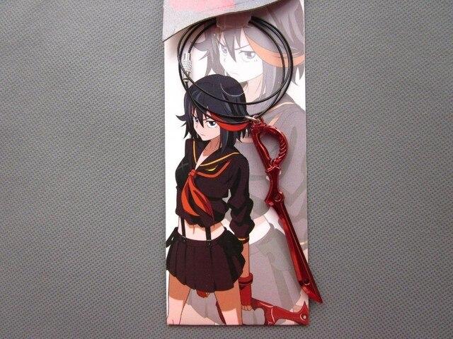 Kill La Kill Toys Necklace Matoi Ryuko Blade Weapon Cosplay Pendants