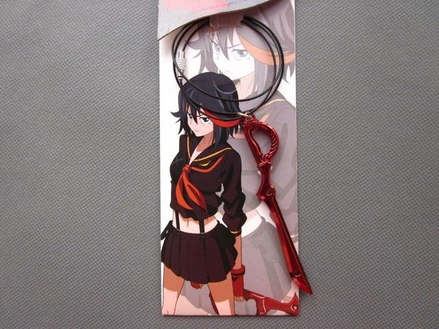 Kill La Kill collar de juguetes Matoi Ryuko Blade arma pendientes para Cosplay