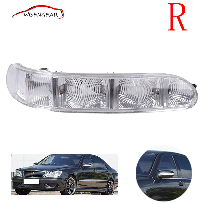 Right Door Side Rear Mirror Turn Signal Light For Mercedes-Benz W220 W215 2208200621 Car styling C/5 door mirror turn signal light for mercedes benz w163 ml270 ml230 ml320 ml400 ml350 ml500 ml430 ml55