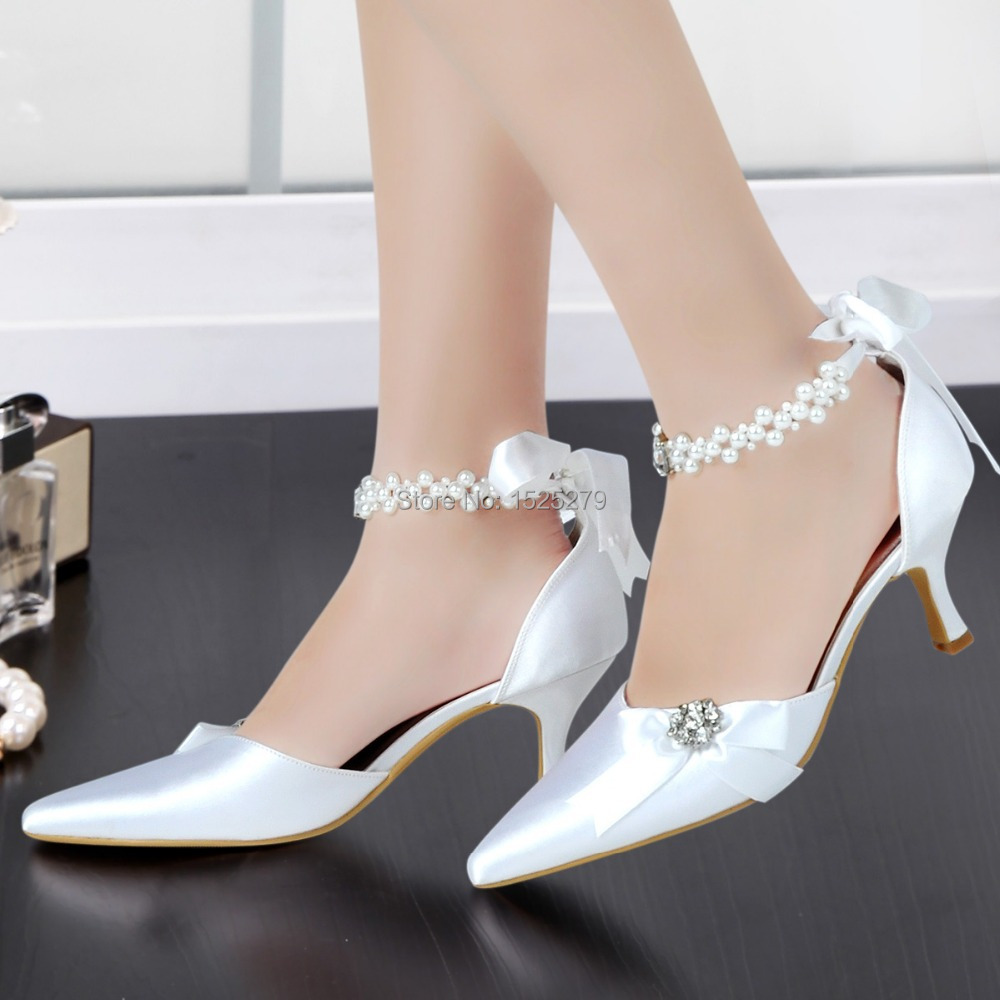 line Get Cheap Pearl Pumps Pointy Toe Aliexpress