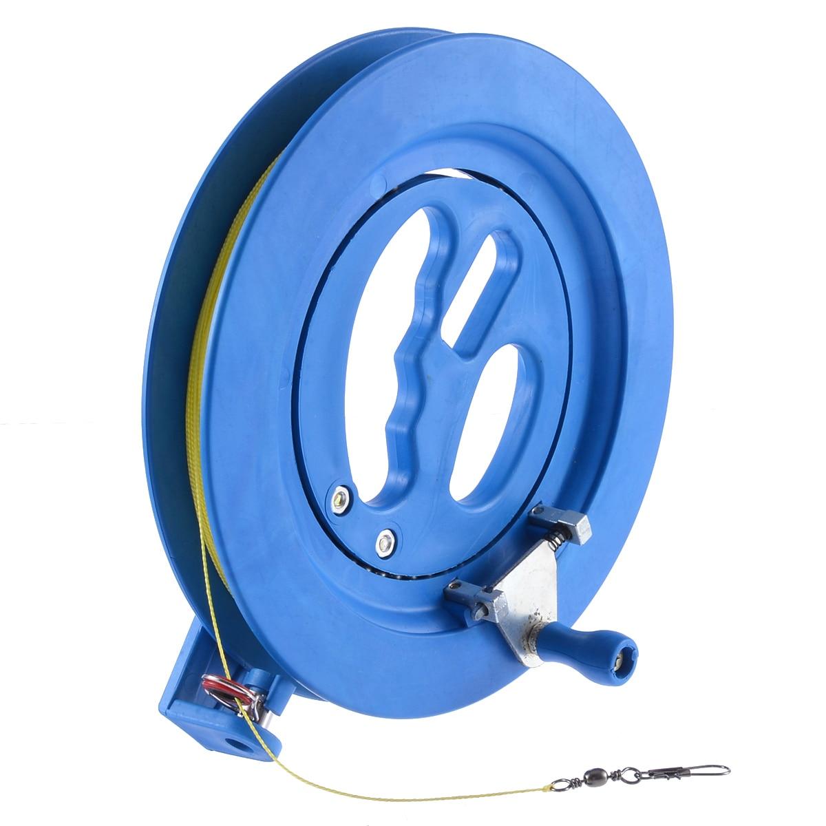 High Quality 200M Kite Line Winder Winding Reel Grip Wheel String Flying Tools Lock Kit