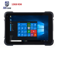 2018 China 8 Strong Tablets PC Waterproof Windows 10 Shockproof GPS Navigation Tablets 128GB ROM Industrial PC Scanner USB GNSS