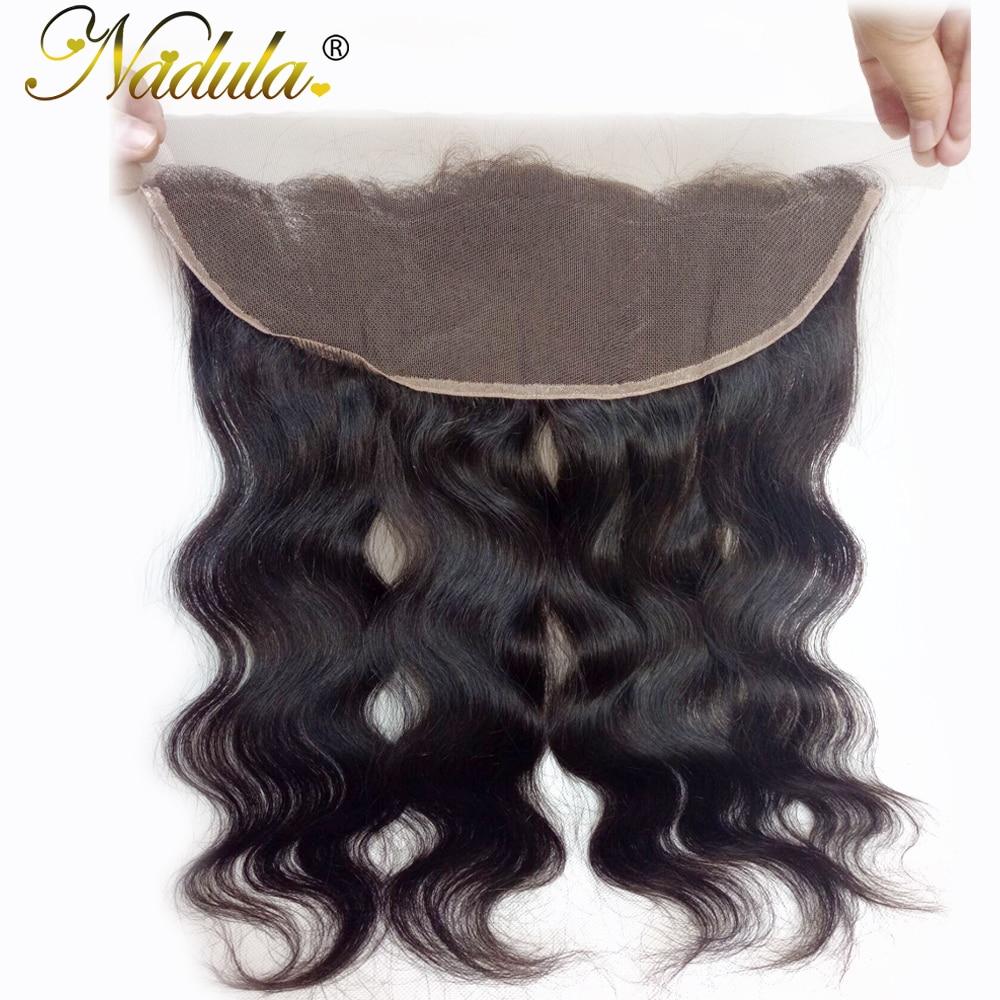 Nadula Hair 13x4 Lace Frontal Body Wave Hair   Hair s 100%  s Closure 10-20INCH 1