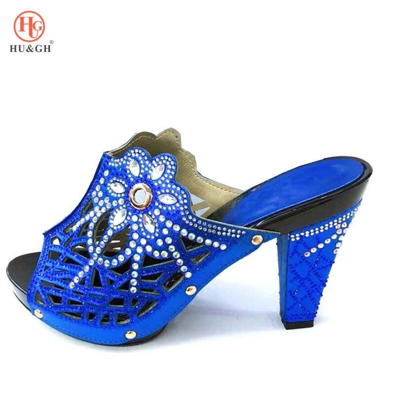 166e194938d338 Africain Noir Sandales Bleu Royal De Bonne Rouge Sac bleu rouge Nigérian  Chaussures Mariage Avec ...