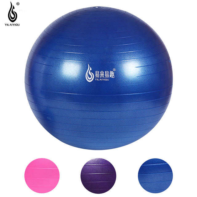 65 cm Mate Bola de Yoga Para El Hogar Salud Fitness Gym Ejercicio  Flexibilidad Equilibrio Equipo d7c38ce84597