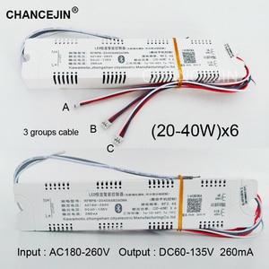 Image 2 - Dimming&color adjusting remote LED driver RF 2.4G LED transformer mobile phone app controller input:AC180 265V output:DC60 135V