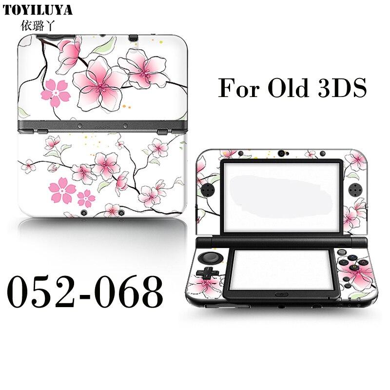 2016 De Protection de La Peau Autocollant Pour Japonais Style Vents Et Zelda 3 Pistolet Vieux 3DS Pour 3DS Gamepad