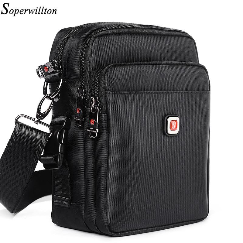 Soperwillton Men Bag Shoulder & Crossbody 2017 Material