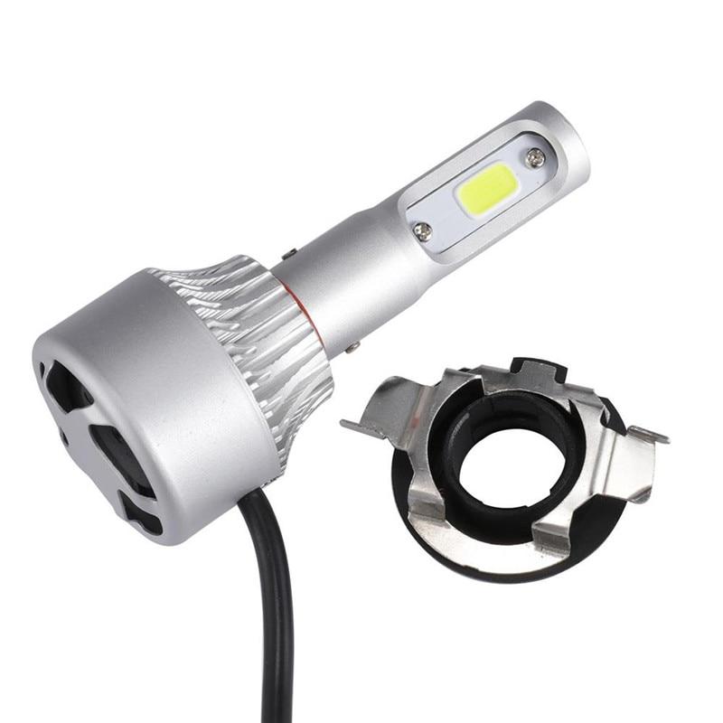 Oslamp H7 LED-kit Strålkastare Glödlampa Bashållare Adaptrar - Bilbelysning - Foto 5