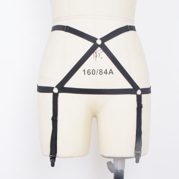 bondage leg garter/suspender belt handmade