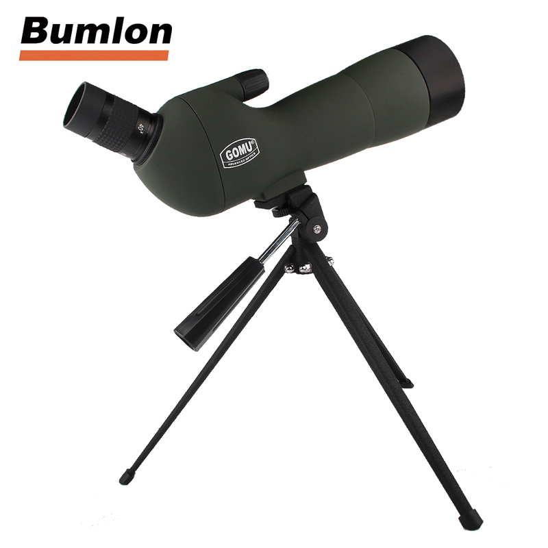 20-60x60 Monocular Telescope HD Outdoor Spotting Scope Zoom with Angled Eyepiece Low Light Night Vision Scope HT38-0008 binoculars 7x35 telescope binoculares hd high binoculo profissional low light night vision spotting scope full mental new rouya