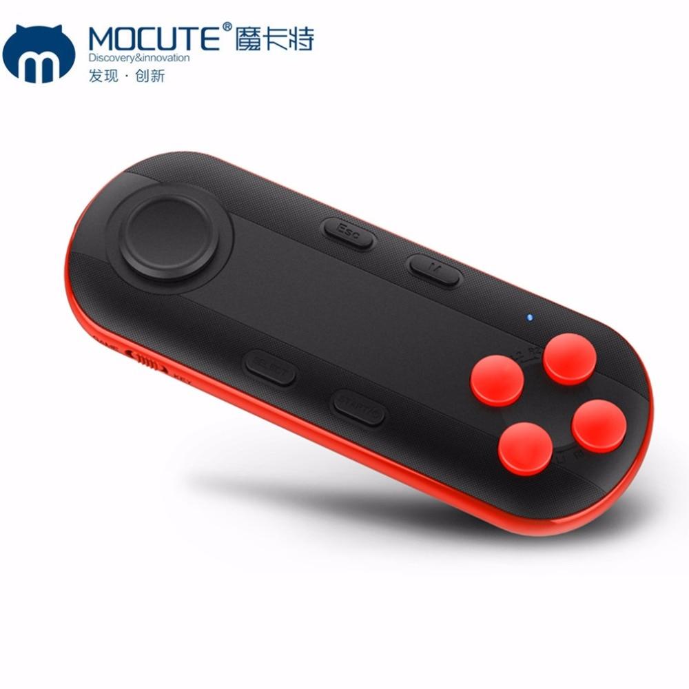 MOCUTE 051 Bluetooth Gamepad VR del Gioco di Gioco Pad Android Smart TV Box Joystick Selfie Scatto Remoto di Controllo Per il iphone/ PC Gamer
