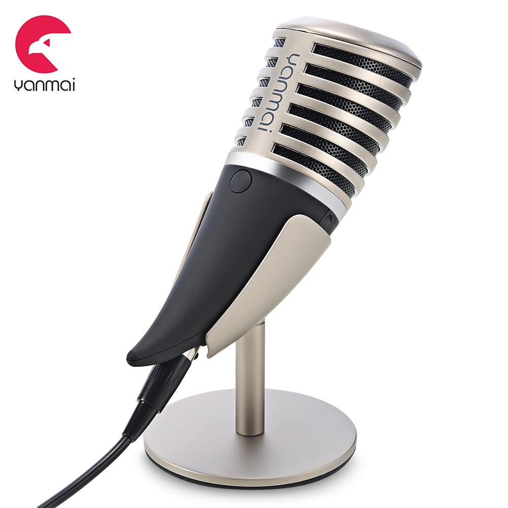 Yanmai SF - 700B Condenser Microphone 3 Polar Patterns With Holder And Portable Bag цена