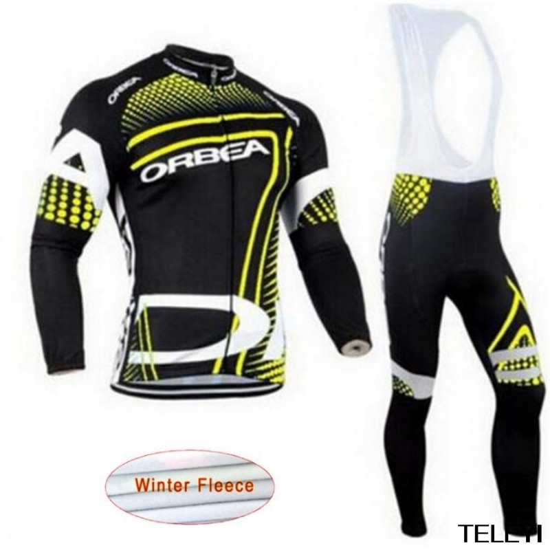 2017 ORBEA Winter Men Cycling Jersey Keep Warm Thermal Fleece Cycling Clothing Set MTB Bike Maillot Ropa De Ciclismo Hombre G253 цена 2016