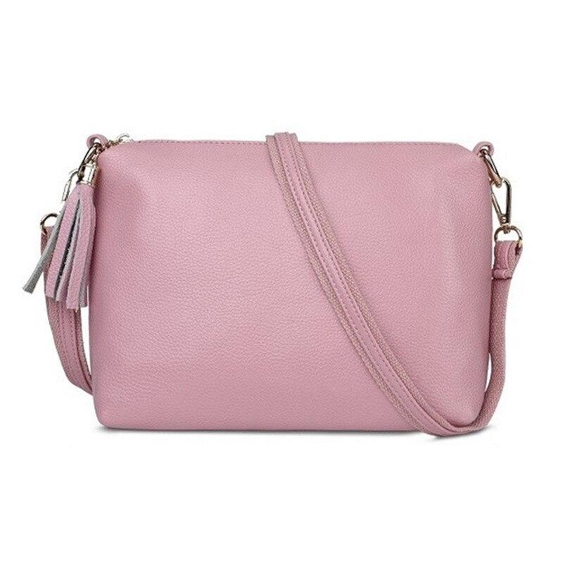 Genuine Leather Women CrossBody Bags tassel Designer Shoulder bag for Womens Messenger Bags small bolsa franja handbags