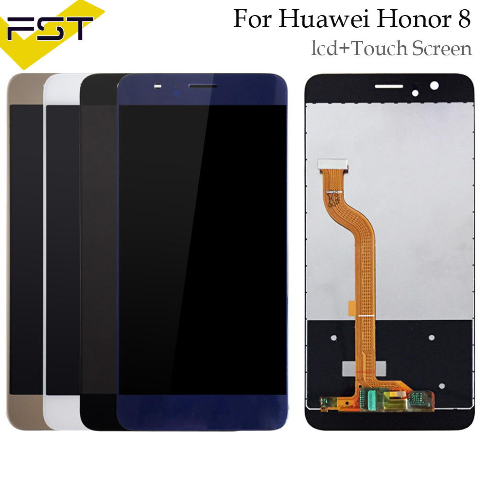 For Huawei Honor 8 Lcd Display+Touch Screen Honor8 Digitizer Assembly Spare Parts FRD-L19 FRD-L09 For 5.2 Huawei Honor 8 LCDFor Huawei Honor 8 Lcd Display+Touch Screen Honor8 Digitizer Assembly Spare Parts FRD-L19 FRD-L09 For 5.2 Huawei Honor 8 LCD