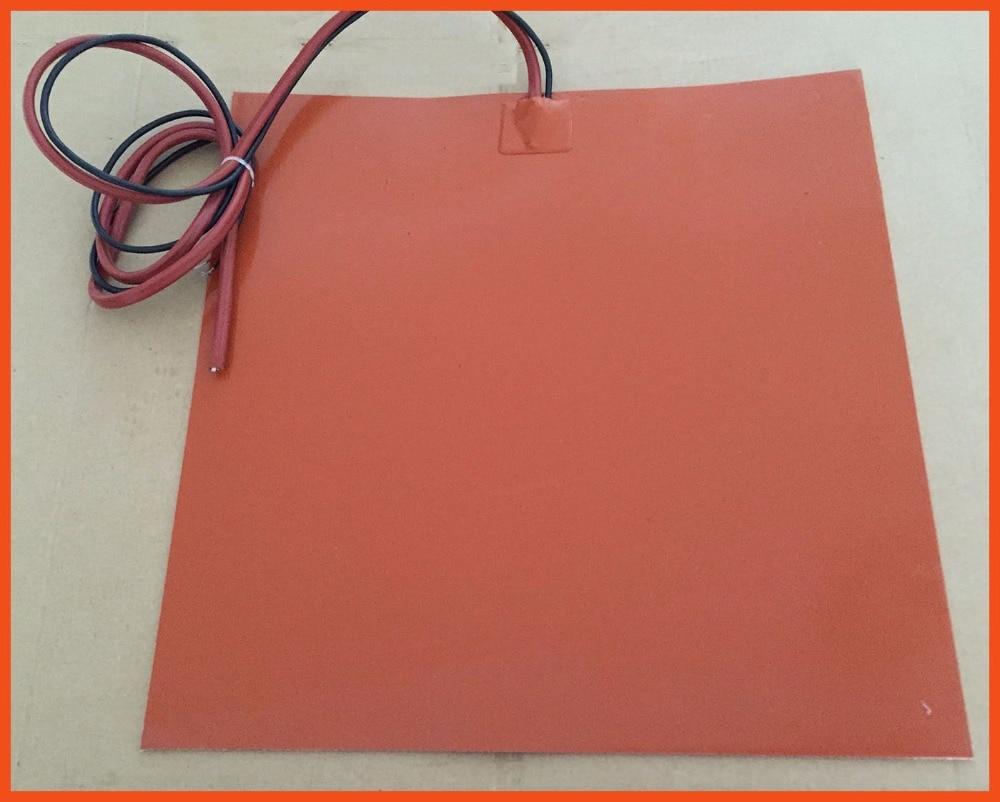 Slicone 360x340mm 370 watt 24 volt con 100 k termistore e 3m nastro silicone heating element for fiber humidity drying hot plate whirlpoolpumpe ja50 zirkulationspumpe umwalzpumpe spa pump 0 5 ps 370 watt
