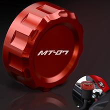 Motorcycle Reservoir Cap fluid Motorbike Cylinder Cover For Yamaha FZ-07 MT-09 FZ-09 FZ 07 MT 09 2014 2015 2016
