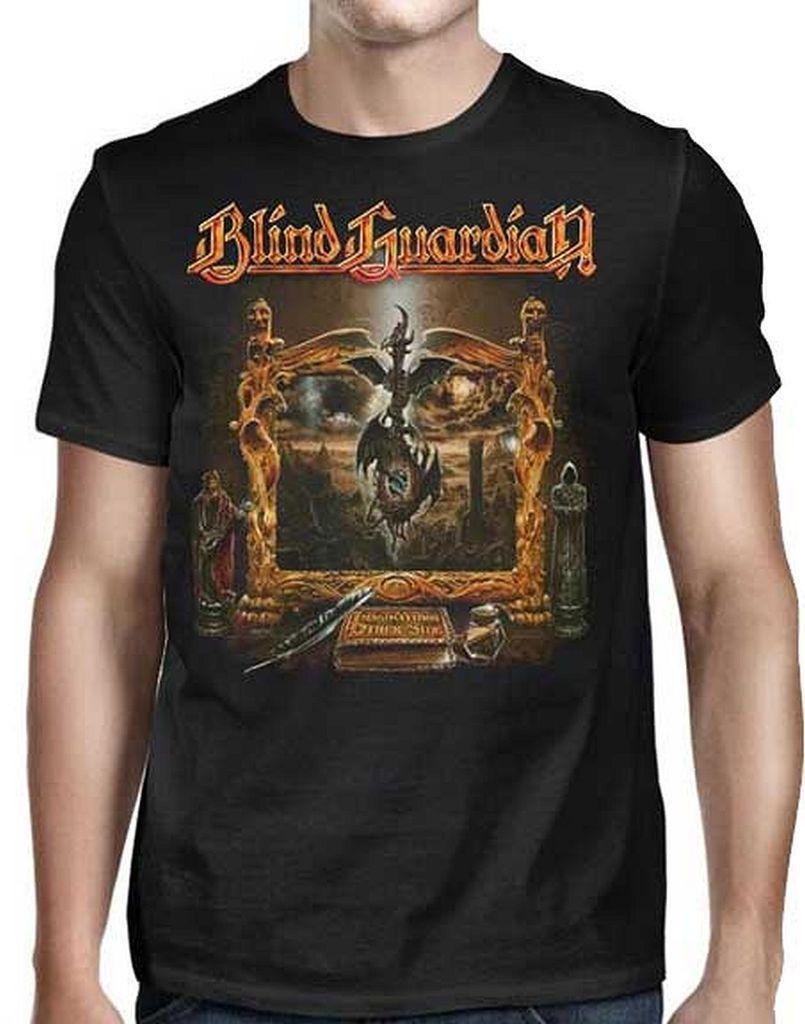 Summer 2018 New Blind Guardian Imaginations Doorway Mens T-Shirt SM, MD, LG, XL, XXL NewBrand Clothing Hip-Hop Top
