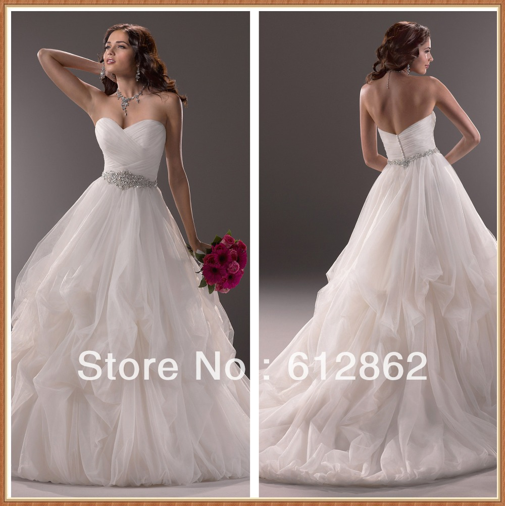 2017 New Arrival Strapless Sweetheart Neckline Low Back
