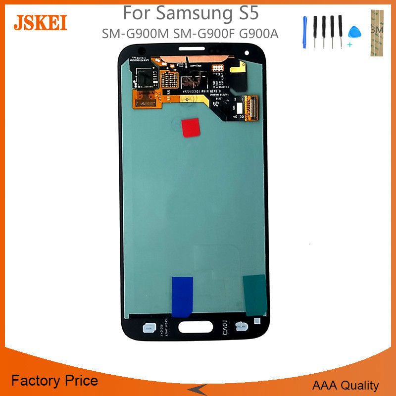 For Samsung S5 LCD Display Touch Screen Digitizer SM-G900M SM-G900F G900A LCD Complete 5pcs/lotFor Samsung S5 LCD Display Touch Screen Digitizer SM-G900M SM-G900F G900A LCD Complete 5pcs/lot