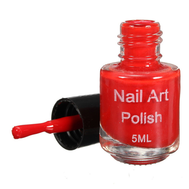 2018 New Nail Polish Oil Stamping 5ml Polish Acrylic Gel Tip