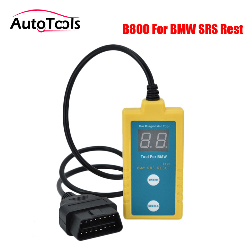 Universal B800 For BMW SRS Airbag Scan Reset Tool Scanner Resetter 1994 To 2003 for bmw cars tech 2 scanner for sale