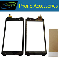 1PC Lot 4 5 For Geotel A1 3G Cellphone IP67 Waterproof MTK6580T Touch Screen Digitizer Touch