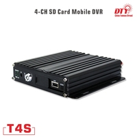 T4S with GPS, gps mdvr, h.264 sd card car dvr with gps tracker with factory dierect pricing