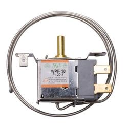 2 piny uniwersalny termostat lodówki 2 stopy 68mm mechaniczny przełącznik kontroli temperatury zamrażarka lodówka części zamienne w Części do zamrażarek od AGD na