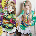Lovelive Love Live Angelic Angel Minami Kotori Kimono Uniform Dress Outfit Anime Cosplay Costumes
