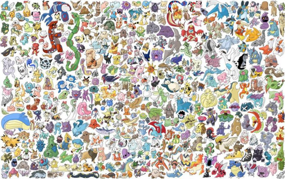 Pokemon home decor classic fashion movie style custom free - Poster pokemon a imprimer ...