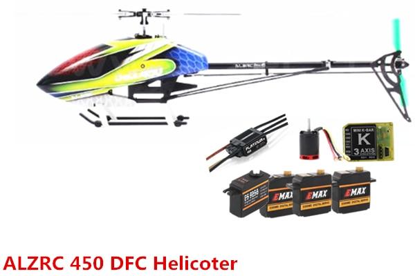 ALZRC Devil 450 RIGIDA SDC/DFC Super Combo 450 RC Helicopter Nero 60A ESC-in Componenti e accessori da Giocattoli e hobby su  Gruppo 1