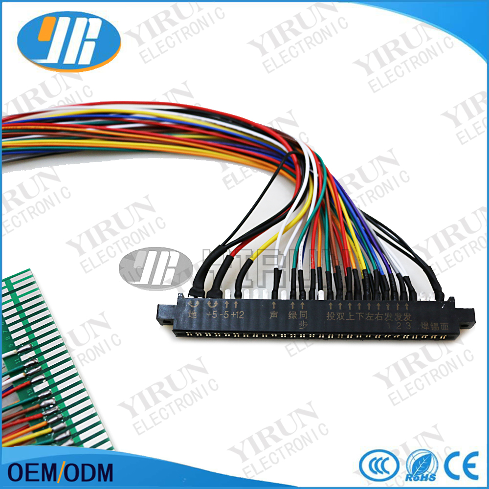 Full 56 Pin 100cm Jamma Extender Harness For Arcade Game Board Wiring Diagram Cabinet Wire Loom Pcb In Coin Operated Games From Sports