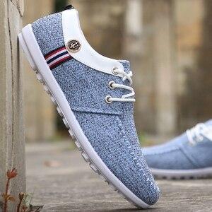 Image 3 - 2020 men Casual Shoes mens canvas shoes for men shoes men fashion Flats brand fashion Zapatos de hombre