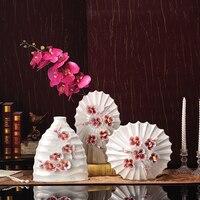 Trójwymiarowe kwiaty kwiat wazon ozdoby Wyposażenia Domu nowoczesny minimalistyczny salon miękkie dekoracji dekoracji
