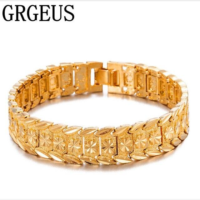 gouden armband mannen