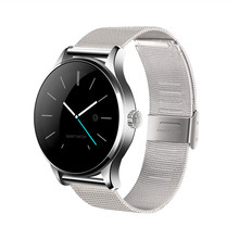 NEUE Smart Uhr 1,22 Zoll IPS Runden Bildschirm Unterstützung Pulsmesser mtk2502 Bluetooth smartWatch Für apple huawei IOS Android