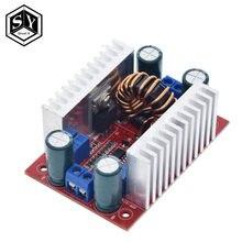 Inversor de corrente constante, conversor de corrente constante da fonte de alimentação led 400-50v para cc 8.5 w 15a módulo de ampliação do carregador de tensão, 10-60v