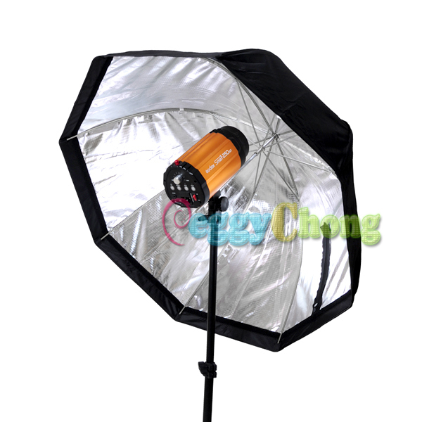 80cm/32in Octagon Softbox Selens umbrella Reflector soapbox For SpeedLight/Flash With tracking Number ...
