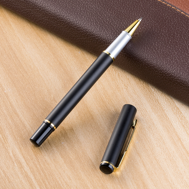 Stationery manufacturers office metal ball pens for school supplies school business gifts pen 1