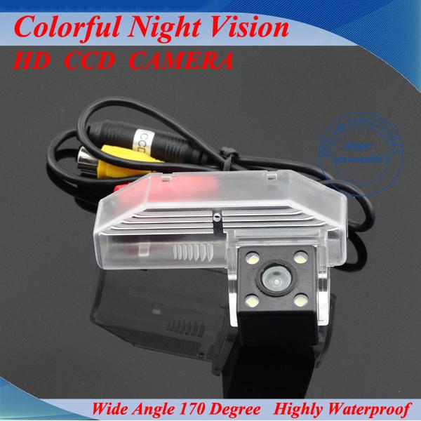 Frete grátis com fio HD CCD car rear view estacionamento inverte a câmera para Mazda 6/Mazda6/M6 2009 Noite visão à prova d' água