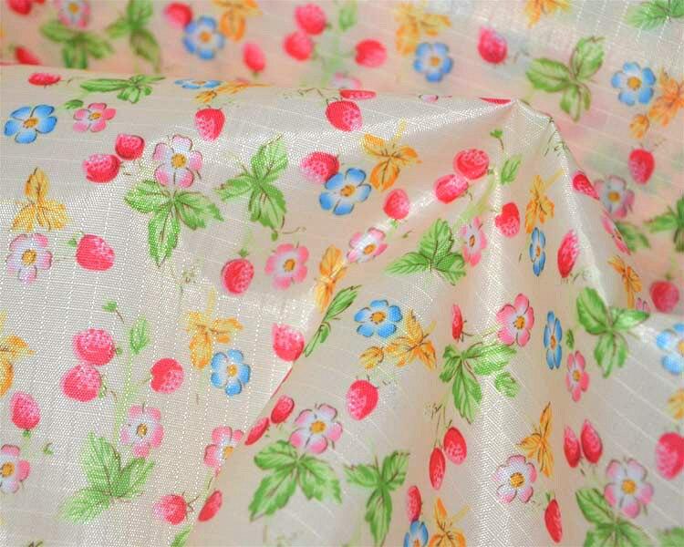 Blumen Starke 170 g/meter PU Beschichtet 210D Wasserdichte Oxford Stoffbezug Möbel Tischdecke Taschen baldachin Zelte Sonnenschirm Tuch