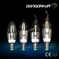 Filament Bulb E14 LED Light Bulb Candle 5W 7W Bulb C35 220V Retro Antique Vintage Style