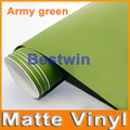 Free shipping wholesale price 1.52x30m a lot high quality matte vinyl car wrap film car sticker  with bubble free