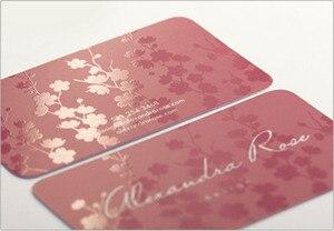 Image 1 - Gratis verzending 200 pcs goedkope GOEDE visitekaartje afdrukken 300gsm gecoat papier bezoek card SPOT UV naam card printing
