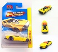 Matchbox yellow photoelectric racing 1:64 alloy car models metal materials pocket car children 's toys