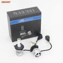 Hot Sale 2PCS H1 H3 H4 H7 H11 9005 9006 72W 8000LM COB Headlight Bulbs With