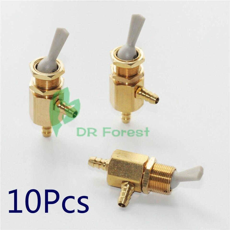 10 * Højkvalitets Pulldown Switch Valve Toggle For Water Bottle Dental Chair Unit