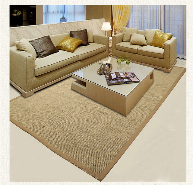 Sisal Rugs Office Hotel Sisal Carpet Natural Floor Pad Matting ...